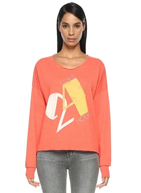 Wild Fox Sweatshirt Mercan